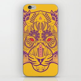 Zentangle Tiger  iPhone Skin