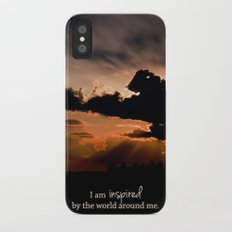 inspired by the world II Slim Case iPhone X