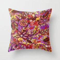 Renaissance Fair Throw Pillow