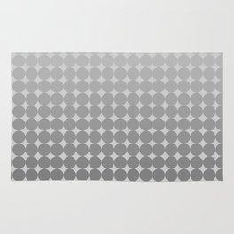 White Circles Rug