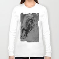 bull Long Sleeve T-shirts featuring BULL by MikakoskArts