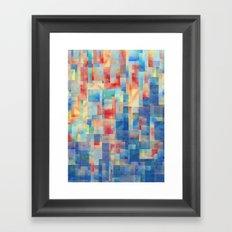 Long Division (Torrent Remix) Framed Art Print