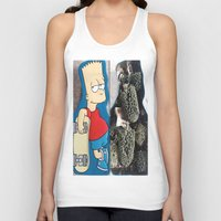 simpson Tank Tops featuring Bart Simpson by Arran.Sahota