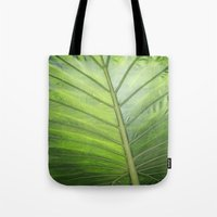 palm Tote Bags featuring Palm by ALLY COXON