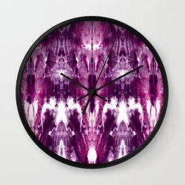 Maroon Lagoon Wall Clock