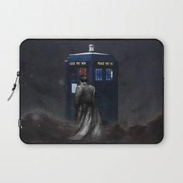 TARDIS DOCTOR WHO NEBULA Laptop Sleeve