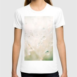 winter reflected in the morning dew T-shirt