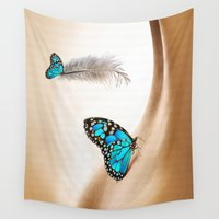 shining Wall Tapestries featuring Shining Life by Nadine May