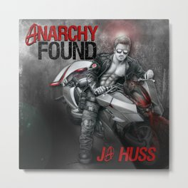 Anarchy Found (Superhero Romance)  - by JA Huss Metal Print