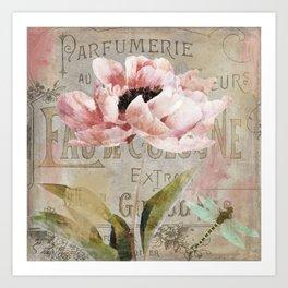 Le Fleur Jardin Art Print
