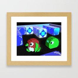 Inside Pengo Framed Art Print