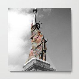 Funky Landmark - NY II Metal Print