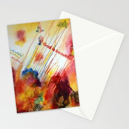 God is Beautiful Stationery Cards