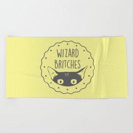 WIZARD BRITCHES Beach Towel