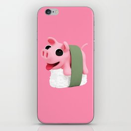 Rosa sushi pink iPhone Skin