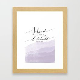 Psalms Framed Art Print