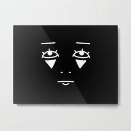 Blank 810 Metal Print
