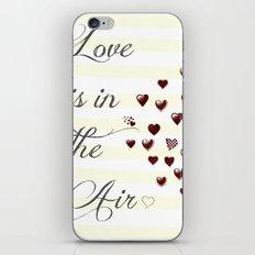 Love is iPhone & iPod Skin
