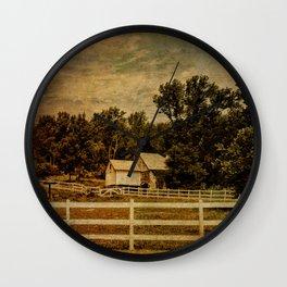 Otisville Sanitarium Barn Wall Clock