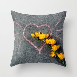 Sunshine Of Your Love Throw Pillow