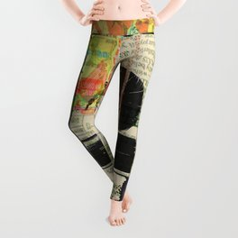 Rauschenberg Rumble (for Hip Kidds) Leggings