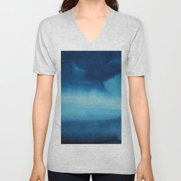 Indigo Ocean Dreams Unisex V-Neck