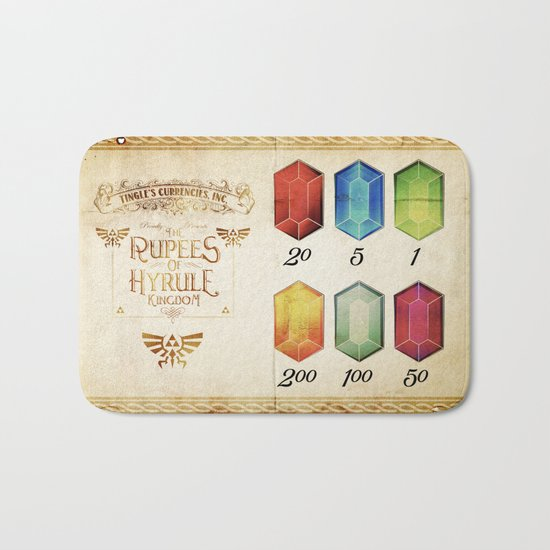 Legend of Zelda - Tingle's The Rupees of Hyrule Kingdom Bath Mat