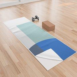 Mélange No. 1 Modern Geometric Yoga Towel