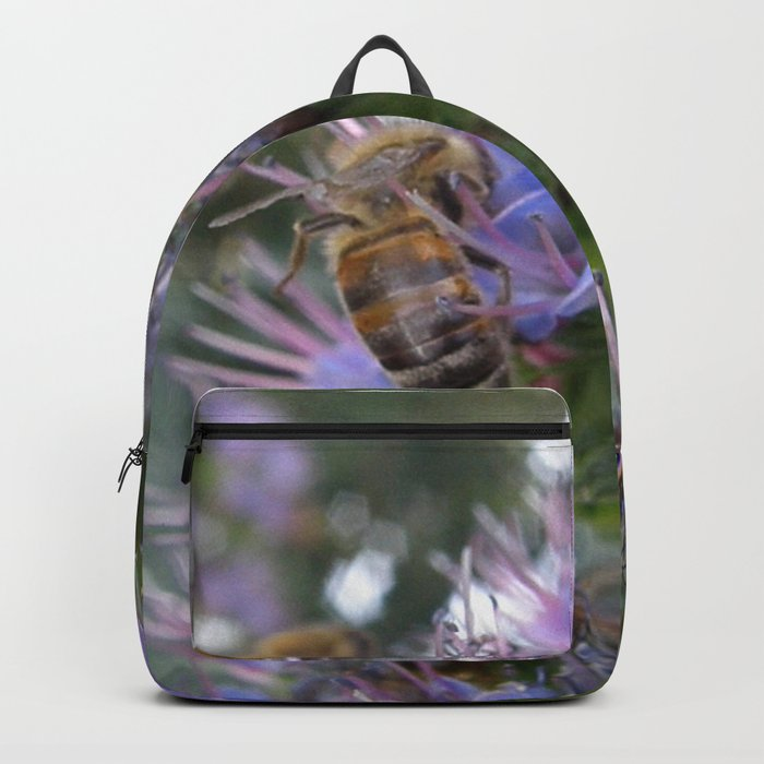 Bees on Buddleia Backpack