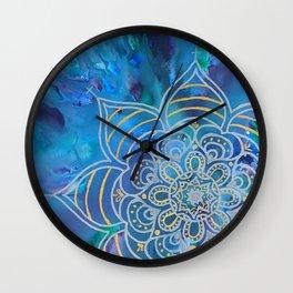 Mystical Mandala Wall Clock
