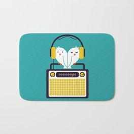 Radio Mode Love Bath Mat