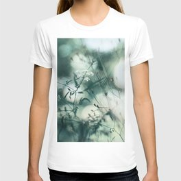 Summer Floral Teal Dreams T-shirt