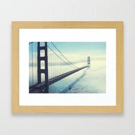 The Gates are golden Framed Art Print