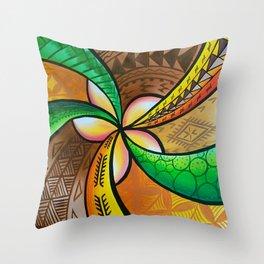 Abstract Pua Throw Pillow