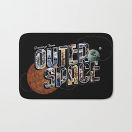Greetings From Outer Space (color 01) Bath Mat