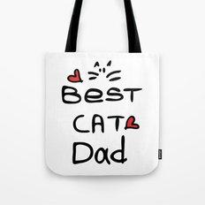 Best cat dad Tote Bag