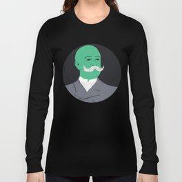 Stache man Long Sleeve T-shirt
