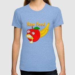 Raw Foods Food Fight T-shirt