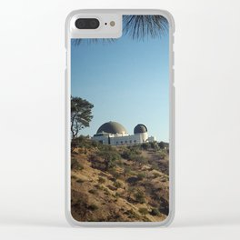 overlook the city Clear iPhone Case