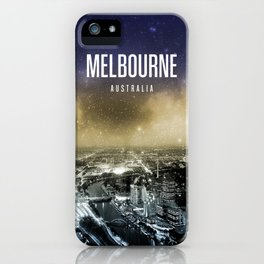 Melbourne Wallpaper iPhone Case