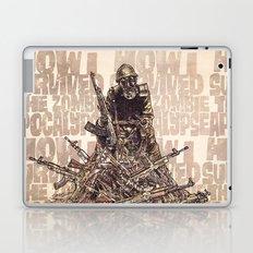 How I Survived The Zombie Apocalypse (colour option) Laptop & iPad Skin