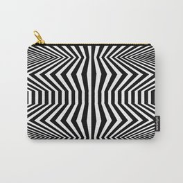 Angled Distortion Carry-All Pouch