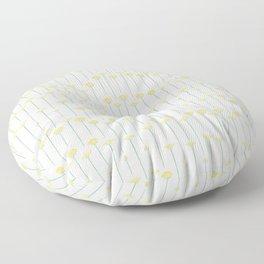 Delicate Dandelion Floor Pillow