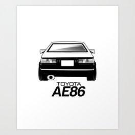 AE86 Art Print