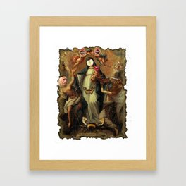 Crown of Creation Framed Art Print