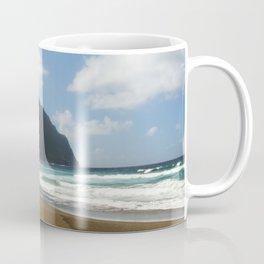 Empty Beach of Kalaupapa Coffee Mug