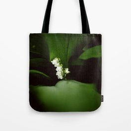 Dramatic Lilly of the Valley Tote Bag