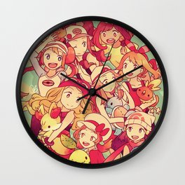 Poketrainers Wall Clock