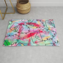 Grab Your Bag and Fly and See the World by Lenna Rug
