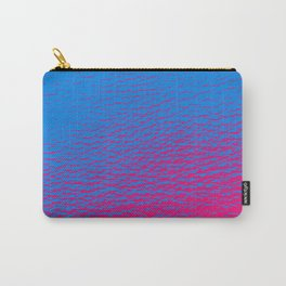 Blue Pink Gradient Carry-All Pouch